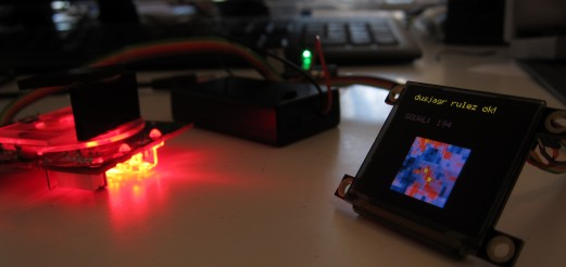 New hacks on the optical mouse 2 OLED-screen