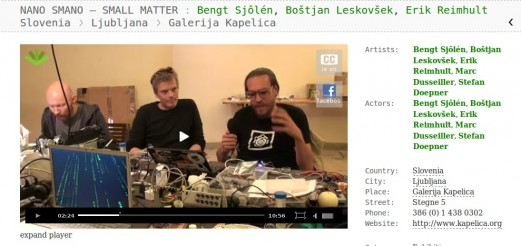 Documentary on NanoŠmano by artycok.tv