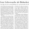 "Article on ""Erste Gehversuche als Biohacker"", NZZ"