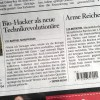 "Article on Biohackers in ""Schweiz am Sonntag"""