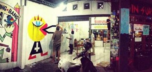 BrainHacking vs. Larry's Tattoo Show @ SURVIVE!garage, Yogyakarta
