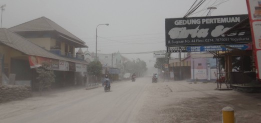 DIY Vulcanology | Genung Kelud Ashfall in Yogyakarta