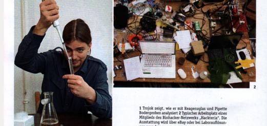 """""""Der Genforscher aus Nachbars Garten"""" Interview with Rüdiger Trojok, P.M. Jan 2015"""
