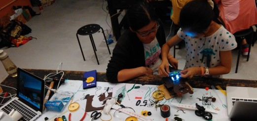 自製顯微鏡工作坊 – Homemade Microscope Workshop @ NTSEC, Taipei, 11.Oct 2015