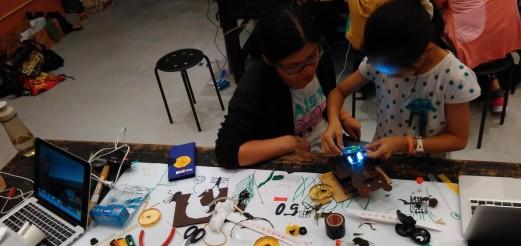 自製顯微鏡工作坊 – Homemade Microscope Workshop @ NTSEC, Taipei, 11.Oct 2015