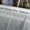 Bürgerwissenschaft: Die Entdeckung der Amateure – Article in NZZ, 4.12.2015