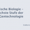 Report on Synbio and Biohacking to the German Bundestag
