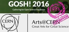 GOSH!2016 meets Arts@CERN