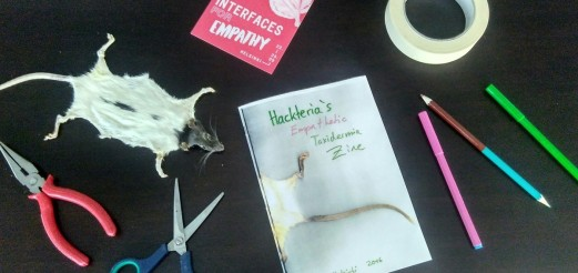 Hackteria's Empathetic Taxidermia Lab – Pixelache 2016, Helsinki