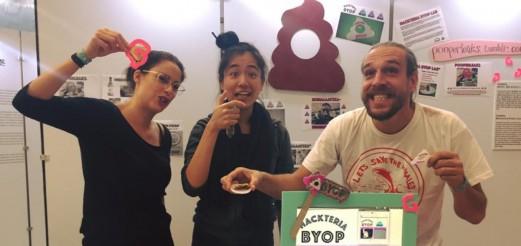 Hackteria BYOP (Bring Your Own Poop) Lab | P.O.S.T. Hackathon, Seoul