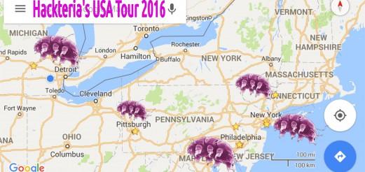 dusjagr's USA Tour 2016 – Tardification of the East Coast