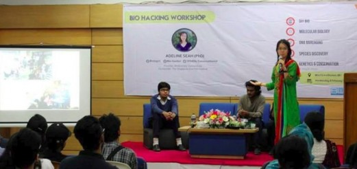BioHacking Workshops & Talks with Adeline Seah and The Tech Academy, Dhaka, Bangladesh