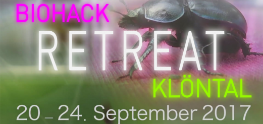 Biohack Retreat Klöntal – Switzerland 2017
