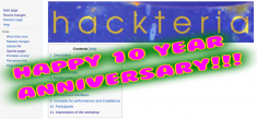 10 Year Anniversary of Hackteria