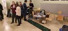 "HACKTERIA visits Projektatelier of the ""Partizipative Wissenschaftsakademie"""