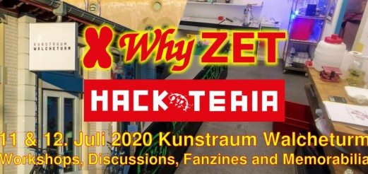 Hackteria X Why ZET
