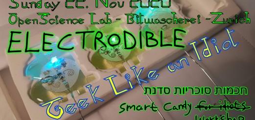 An Idiot's Electrodibles Workshop – 22. Nov 2020