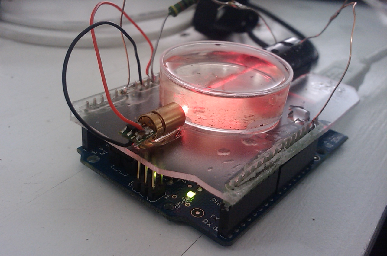 5 Years Of Turbidity Meter Geeking And Now This Hackteria Color Changing Night Light With Attiny Using Arduino Use For Kresseshield