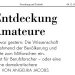 NZZ_Enteckung_der_Amateure_Dez2015